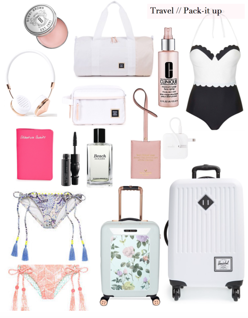 packing list - mexico