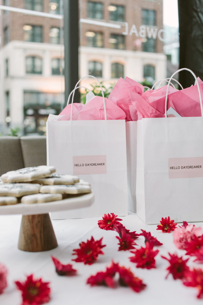 party favours and sugar cookies