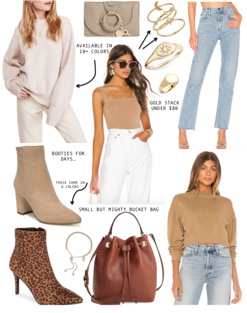 November wishlist shopping collage