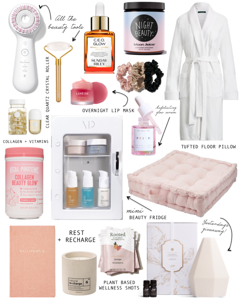 gift guide for the wellness junkie, gifts for well-being, gift guide