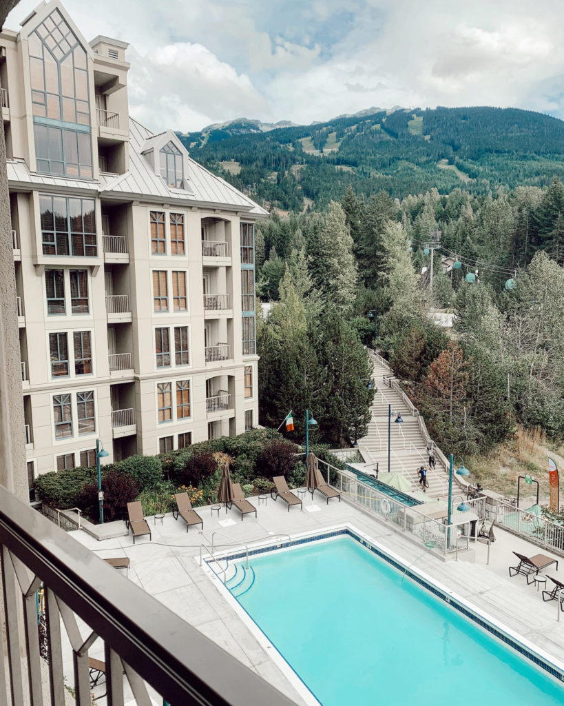 Pan Pacific Whistler Mountainside 2 bath, 2 bed suite